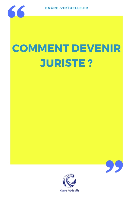 comment devenir juriste